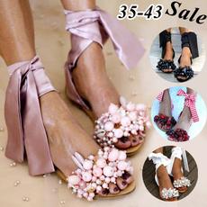 non-slip, Flats, Sandals, Summer