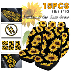 carseatcover, Fashion, Sunflowers, carcover