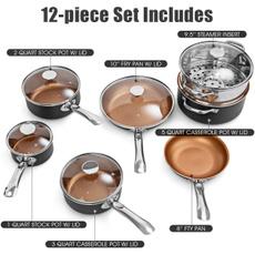 Copper, Aluminum, Home & Living, Home & Kitchen