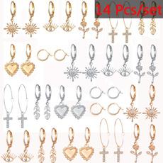 earringforwomen, Women, roseearring, Love