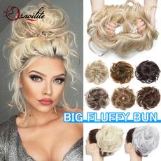wig, Beauty Makeup, scrunchie, hairbun
