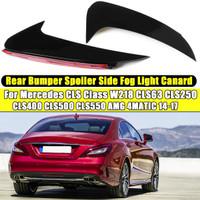 Left Side Bumper Silver Fog Light for Mercedes-Benz 2007-2010 SLK55 AMG C300