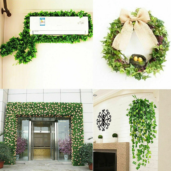 Best Artificial Ivy Trailing Vine Fake Foliage Flower Hanging Leaf Garland Plant Wish