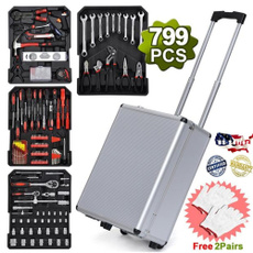 trolley, case, toolboxset, Aluminum