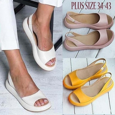 casual shoes, Summer, Plus Size, Fashion