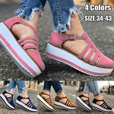 casual shoes, Plus Size, Women Sandals, womensummersandal