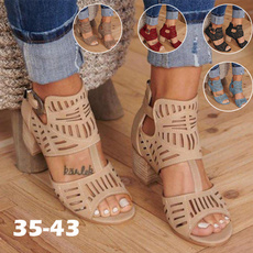 hollowsandal, womenopentoesandal, Fashion, Women Sandals