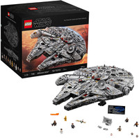Lego Star Wars The Rise Of Skywalker Millennium Falcon 75257 Starship Model Building Kit And Minifigures 1 351 Pieces Standard Packaging Wish