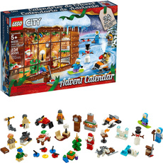 building, city, Lego, advent
