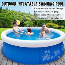Summer, kidsswimmingpool, Sport, Family