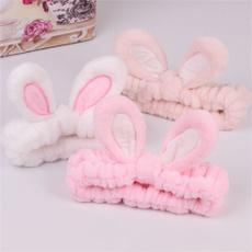 Bunny Ear Headband Makeup Face Washing Bath Spa Mask Soft Elastic Hair Charm New