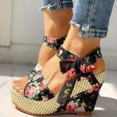 comfortablesandal, Summer, Sandals, Platform Shoes