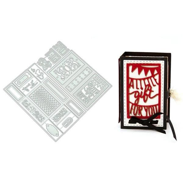 Christmas Cutting Dies Stencils Scrapbooking Embossing DIY Photo Album Card Gift