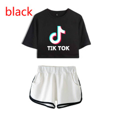 Summer, Shorts, Sleeve, shorttshirtsuit