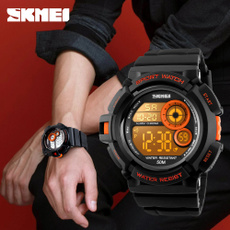 Fashion, led, Waterproof Watch, business watch