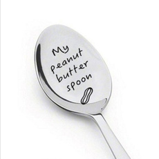 Butter, Laser, peanutbutterspoon, Gifts