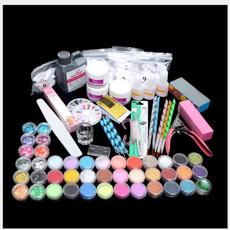 Glitter, art, Manicure Set, Beauty