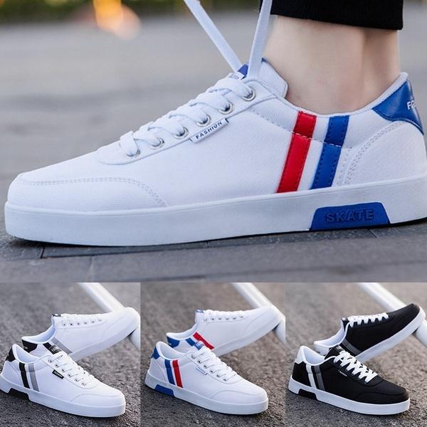 Men Shoes Breathable Canvas Shoes