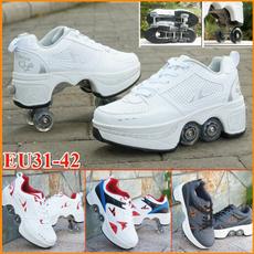 foldingrollerskate, rollershoe, rollerskate, Skateboard
