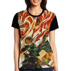 Summer, Plus Size, Tops & Blouses, Cotton T Shirt