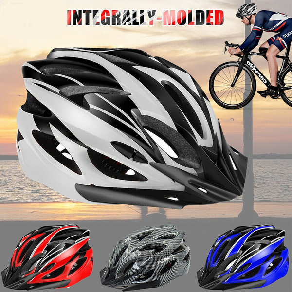 Protective Mens Adult Road Cycling Safety Helmet MTB Mountain Bike Bicycle+Gift