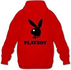 playboy, Hoodies, cottonhoodiepullover, Fashion