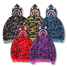 Shark, Fashion, Zip, Coat