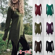 Plus Size, Long sleeve top, Women Blouse, Long Sleeve
