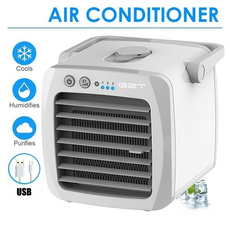 Mini, humidifierair, Summer, portablefan