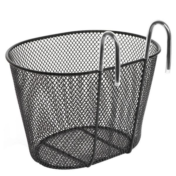 Bicycle Hook Basket Iron Detachable Hanging Front Bike Basket for Kids Boys Girl