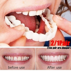 teethbracesget, oralcare, 1pairtoothcover, Silicone