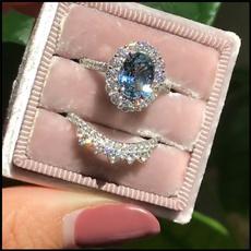 Vintage, Silver Jewelry, DIAMOND, wedding ring
