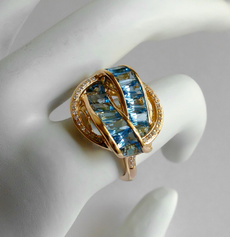 Blues, DIAMOND, wedding ring, Blue Sapphire