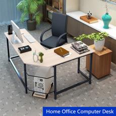 cornercomputerdesk, workstation, lshapeddesk, officedesk
