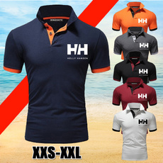 Summer, collar slim, Fashion, tshirt men