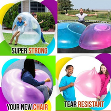 Outdoor, interactive, Balloon, bubbleball