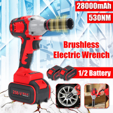 Power Tools, Electric, Battery, brushlesscordlesswrench
