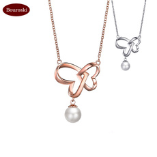 Heart, gold, Wedding, Necklaces For Women