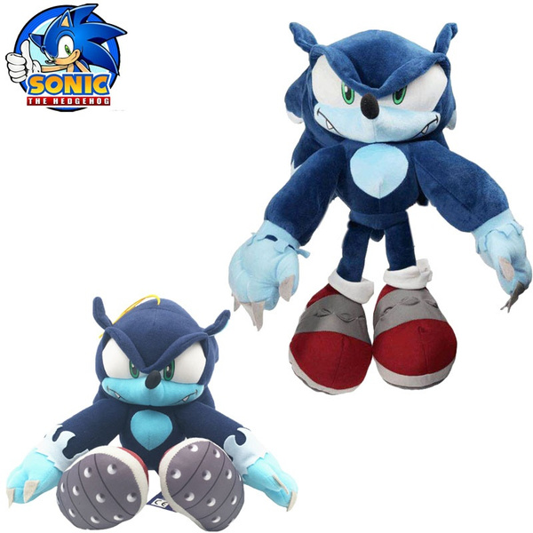 30cm Sonic Hedgehog Plush Toy Sonic Plush Doll Cartoon Animal Soft Stuffed Toy Kids Birthday Christmas Gift Wish