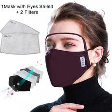maskwitheyeshield, dustproofmask, mouthmask, shield