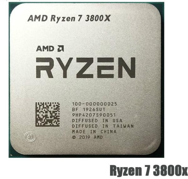 Amd Ryzen 7 3800x R7 3800x 3 9 Ghz Eight Core Sixteen Thread Cpu Processor 7nm L3 32m 100 000000025 Socket Am4 Wish