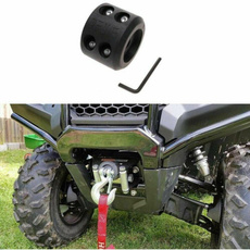 Winch Cable Hook Stopper Rubber Winch Rope Line Saver with Aluminum Allen Wrench for ATV UTV Winches 2 Pieces Durable Shock Absorbent Waterproof Rubber Prevent Pulling,Eliminate Abrasion,Bouncing