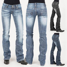 Plus Size, straightjean, Ladies Fashion, ridingjean