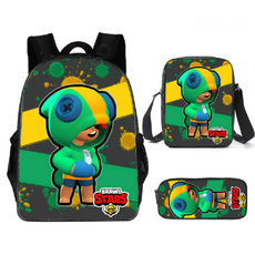 student backpacks, pencilcase, cartoonbag, Backpacks