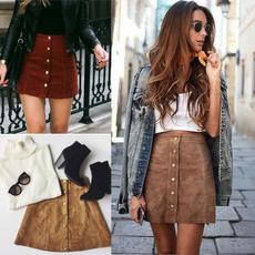 Mini, Summer, pencil skirt, high waist
