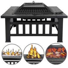 Grill, Outdoor, homedepotfirepit, Garden
