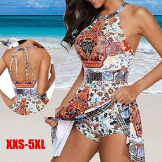 Fashion, women beachwear, Halter, Bikini swimwear
