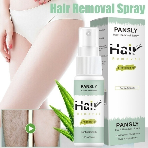 30ml New Sexy Powerful Permanent Hair Removal Spray Rejects Hair