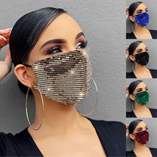 Fashion, dustmask, Outdoor Sports, sequinsmask