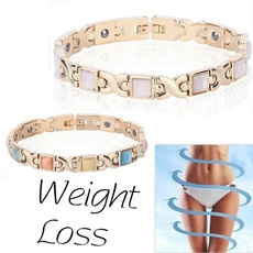weightlossbracelet, Jewelry, gold, Elegant